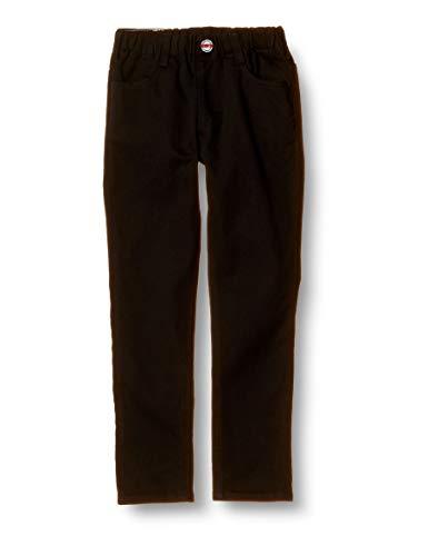 [エドウィン] ジーンズ [どんな服にもあう]キッズ レギュラーストレートパンツ(ストレッチ) 【80~130cm】ETB03 ブラック 80