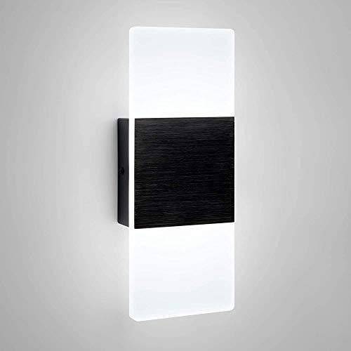Lámpara de Pared Con Iluminación Decorativa Luz de la pared LED moderna, enchufe con interruptor, pared decorativa luz de la noche la luz, adecuados for carreteras, dormitorio, balcón, cabina, decorat
