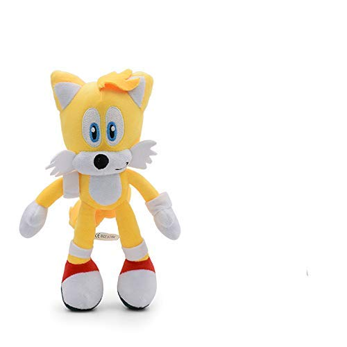 Cuina Sonic Pelush Doll 2020 27 cm Sonic Peluche Muñeca Juguetes Varios Roles Sonic Algodón Soft Soft Muñeca Juguetes para niños yuechuang