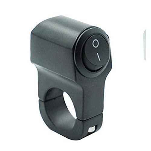 GIS 22 cm 7 / 8in Aleación de Aluminio Motorada de la Motorilla Mandidora Interruptor de la luz Delantera de Tres Posiciones Interruptor Impermeable 12V Spotlight Spotlight Interruptor Retro
