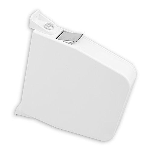 DIWARO® Maxi Aufschraub-Gurtwickler | Lochabstand 174mm | ohne Gurt | weiß
