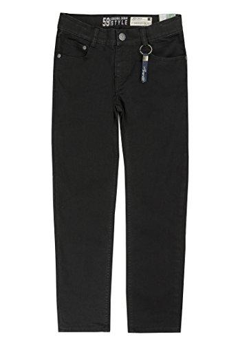 Lemmi Jungen Jeans Tight fit Slim Hose, Schwarz (Black Denim 0010), 152