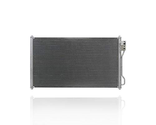 A-C Condenser - PACIFIC BEST INC. For/Fit 99-04 Ford Mustang Cobra/Mach1 8Cy 4.6L-Engine - Without Rubber-Strips - 3R3Z19712AA