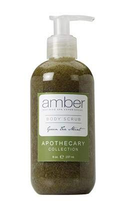 free AMBER INSPIRING SPA EXPERIENCES Green Tea 8 Rare Body Mint oz Scrub