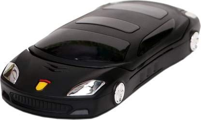 Snexian Rock Car Design Keypad Flip Phone with Dual Sim - Black
