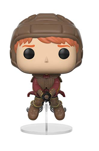 Funko Pop! Harry Potter: Ron Weasley montado en escoba