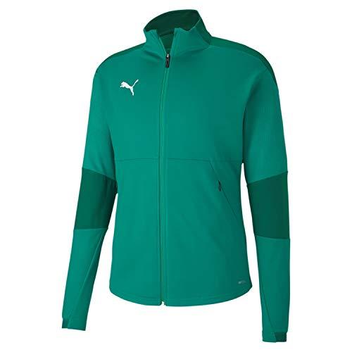 PUMA Teamfinal 21 Training Jacket Chaqueta De Entrenamiento, Hombre, Pepper Green / Power Green, XL