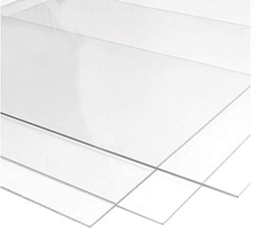 Plancha metacrilato colado 1.22x2.44m transparente placa (3mm)