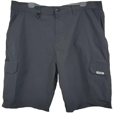 Voyager Stretch Cargo Walking Shorts(Asphalt Gray,38)