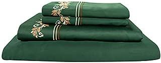 New My Pillow Bed Sheet Set 100% Certified Giza Egyptian Long Staple Cotton (California King, Mossy Oak Green)
