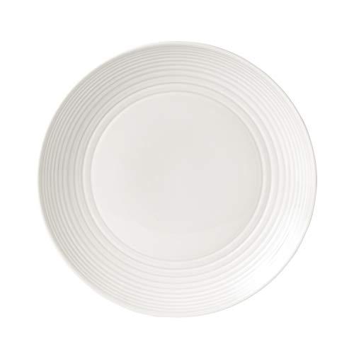 Royal Doulton Gordon Ramsay Maze GRMZWH13498 28cm Dinner Plate White, Stoneware