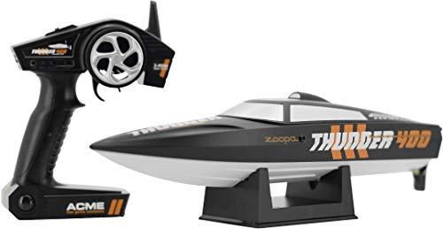 zoopa Thunder 400 Speedboot | inkl. 2,4Ghz Fernsteuerung | Ready to Race (ZA0400)