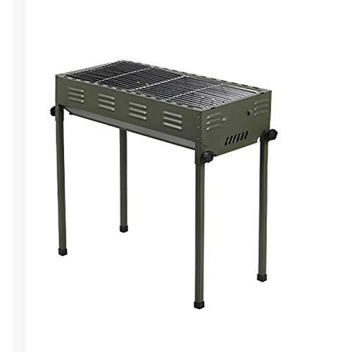 GYZ Tragbare Holzkohlegrilgrill Park Camping Feld Werkzeug Carbon-Grill Professionelle Kochgeschirr, 66x30x68cm (Size : 66x30x68cm)