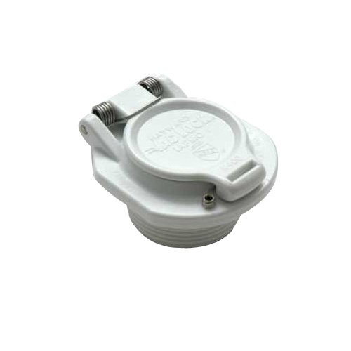 Hayward Vacuum Lock Safety Wall Fitting - White