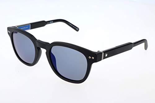 Montblanc Mont Blanc Gafas de sol, Negro (Black), 60.0 Unisex Adulto