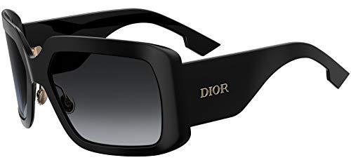 Sonnenbrillen Dior DIOR SO LIGHT 2 BLACK/GREY SHADED Damenbrillen