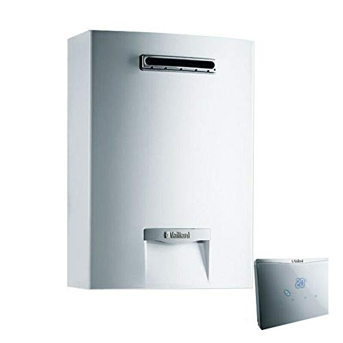 Scaldabagno a gas da esterno Vaillant 15 Lt outsideMAG 158/1-5 camera stagna ErP metano