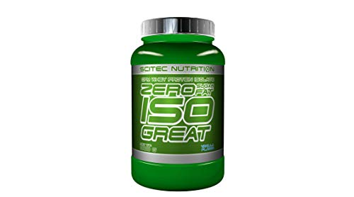 Scitec Nutrition Zero Isogreat Proteína Cero Azúcar/Cero Grasa Vainilla - 900 g