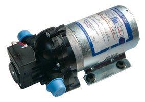 "Pentair SHURflo 2088-443-144 Diaphragm Sprayer Pump 3.5 GPM Auto Demand with Back-Flow Preventive Valve and Self-Priming, 45-PSI, 12VDC, 1/2"" MSPT-Male"