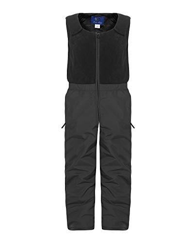 ZARMEXX Kinder Ski-und Snowboardhose mit Fleeceoberteil und Innenfutter (anthrazit, 104)