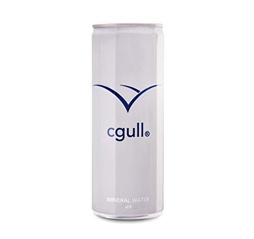 24 x cgull Mineralwasser ohne Kohlensäure (250ml Dosen)