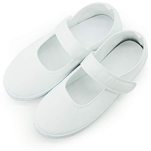 [不明] 上履き 体育館 シューズ 白 靴 子供 大人 室内履き 39 24.5cm 1976