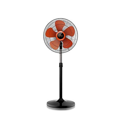 XUERUI elektrische ventilatoren, koeling voor de vloer, oscillatiebuis, hoogte opname 140 W, otto types, zonder timer, mechanische knop