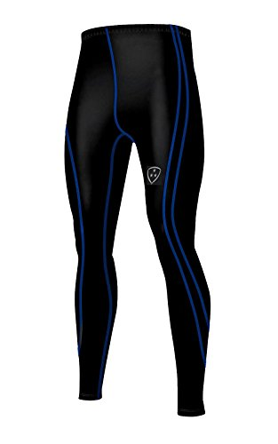 DHERA Mannen Compressie Basislaag Panty Onder Gym Lange Compressie Broek Training Armour Fitness SPORTS