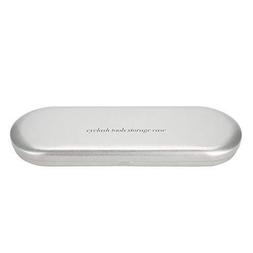 Aufbewahrungsbox für Wimpernverlängerungspinzetten, Organizer Case Makeup Tool für Edelstahl mit großer Kapazität Aufbewahrungsbox für verschiedene Pinzetten Eyebrow Pencil Eyeliner Tools