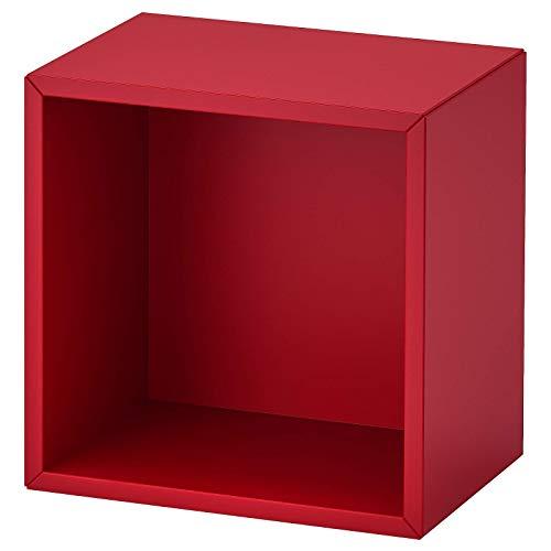 IKEA EKET Regalelement Schrank wandmontiert rot 35x25x35 cm 003.737.02