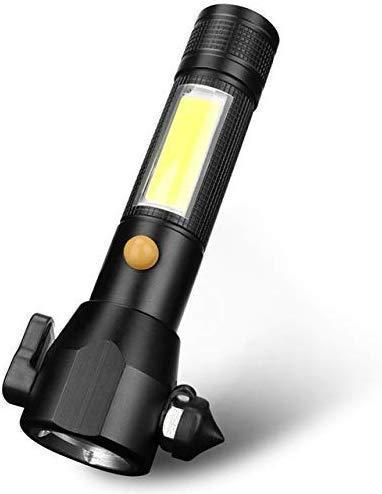 Linterna T6 imán linterna antorcha 5 modos LED recargable luz potencia 30000Lm antorchas hardware HUERDAIIT