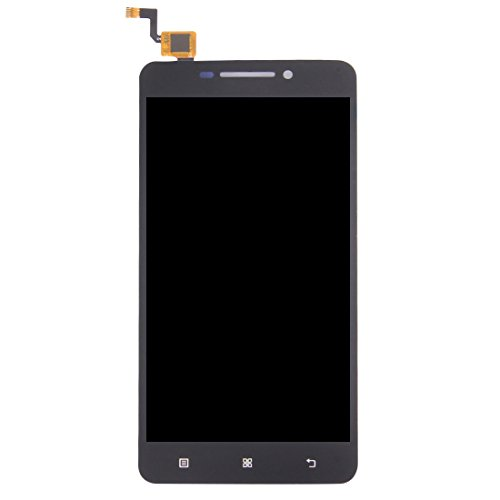 Replacemen teasy to Install Replacement LCD Screen+Touch Screen and Digitizer Full Assembly for Lenovo A5000 (Black) (Color : Black)