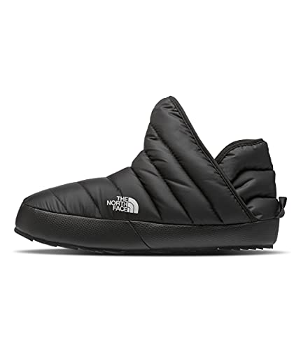 The North Face Women's ThermoBall Traction Bootie, TNF Black/TNF White, 5