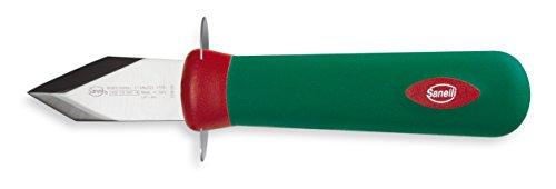 Sanelli Premana Professional Coltello Apriostriche, Acciaio Inossidabile, Verde/Rosso, 20.0x3.5x5.5 cm