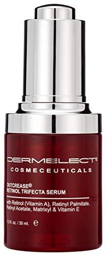 DERMELECT COSMECEUTICALS- Outcrease Retinol Trifecta Serum - Exfoliates and Rejuvenates (1 oz/30 ml)