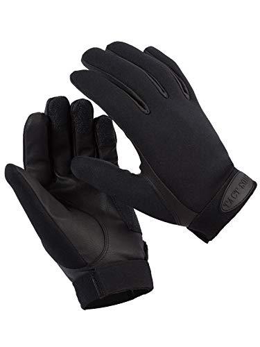 Tact Squad Unisex Neoprene Gloves, Black, XL
