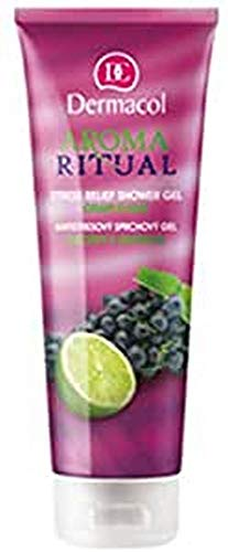 Dermacol Aroma Ritual Duschgel, Grape/Limette, 250 ml