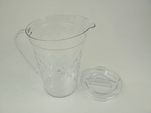 TUPPERWARE Stella Diamant 2,0 L durchsichtig Krug Kanne Wasser Milch Saft Kanne