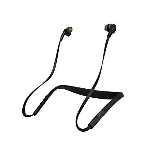 Jabra Elite 25e – Windgeschützte Bluetooth Kopfhörer für kabelloses Telefonieren und Musik hören mit Vibrationsalarm – Schwarz