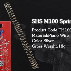 SHS M100 カスタム スプリング ハイサイクル 流速 マルイ各社電動ガン // M4 M16 MP5 G36 G3 LMG SR25 SVD (M100)