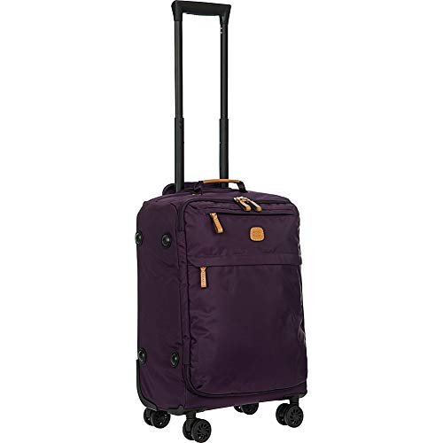Bric's USA Luggage Model: X-BAG/X-TRAVEL |Size: 21' spinner w/frame | Color: VIOLET