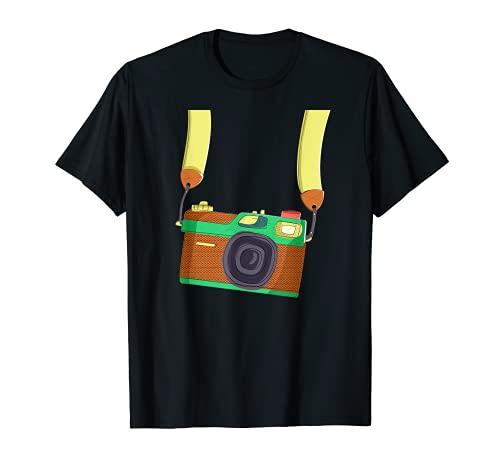 Cámara colgante buen y prestigioso fotógrafo Camiseta