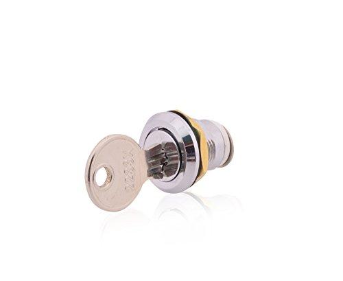Schlüssel und Schloß aus Metall für Sicherungskasten Aufputz IP65 Feuchtraum Verteiler Gehäuse