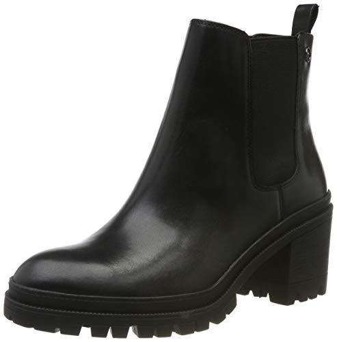 Tamaris Damen 1-1-25417-23 Chelsea Boots, Schwarz (Black 1), 38 EU