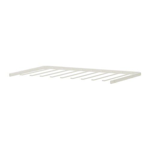 IKEA ALGOT-Hosenbügel, 60 cm, weiß