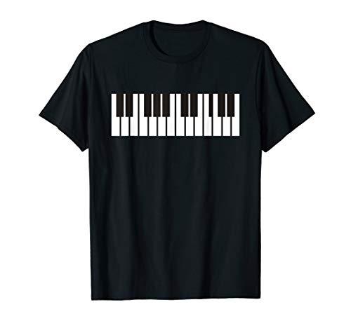 Piano Key Player Musiklehrer Keyboarder Pianist T-Shirt