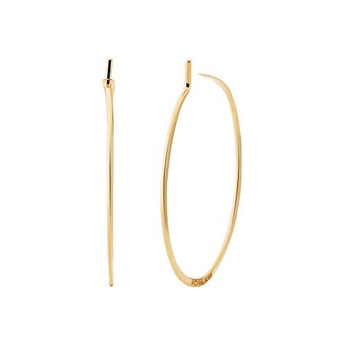 Michael Kors Damen-Creolen 925er Silber One Size Gold 32015130