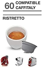 Caffitaly 60Cápsulas café compatibles Ristretto