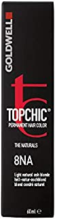 Goldwell Topchic Hair Color, 8na Light Natural Ash Blonde, 2.03 Ounce