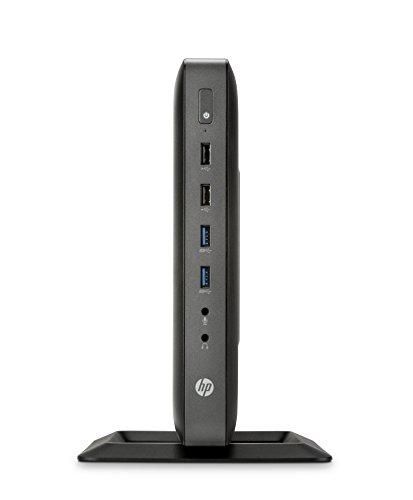 HP t620 Flexible - Thin Clients (GX-217GA, AMD G, SSD, mSATA, DDR3-SDRAM, 1 x 4 GB)